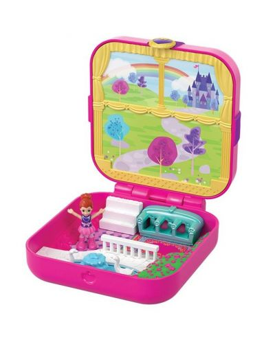 Игрален комплект Mattel Polly Pocket - Скрито съкровище, асортимент - 5