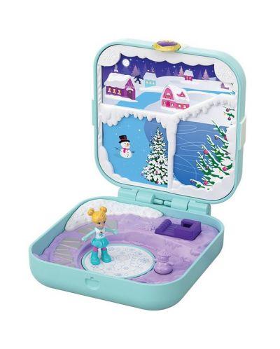 Игрален комплект Mattel Polly Pocket - Скрито съкровище, асортимент - 4