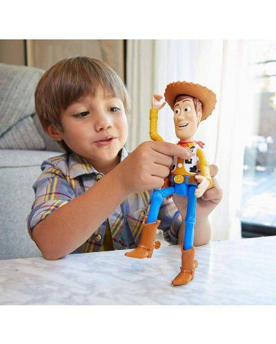 Детска говореща играчка Mattel Toy Story 4 - Шериф Уди - 4