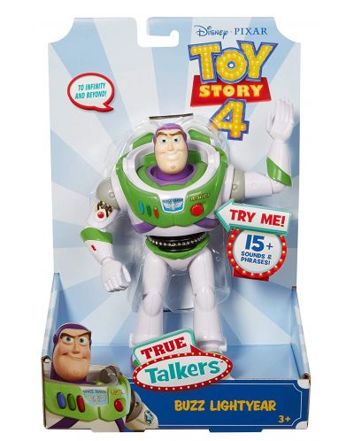 Детска говореща играчка Mattel Toy Story 4 - Баз Светлинна година - 5