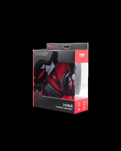 Гейминг слушалки Genesis H44 - черни - 2