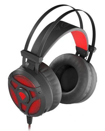 Гейминг слушалки Genesis Neon 360 - черни/червени - 5