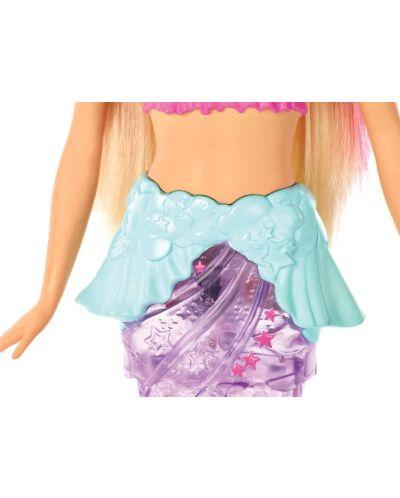Кукла Mattel Barbie - Русалка със светеща опашка - 5