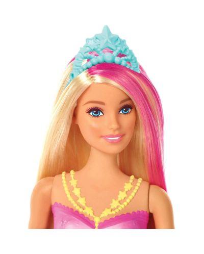 Кукла Mattel Barbie - Русалка със светеща опашка - 3