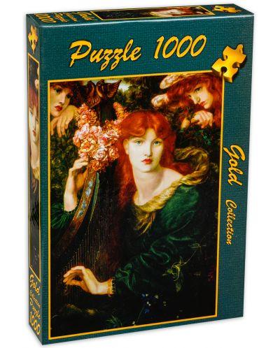 Пъзел Gold Puzzle от 1000 части - Гирлянда - 2