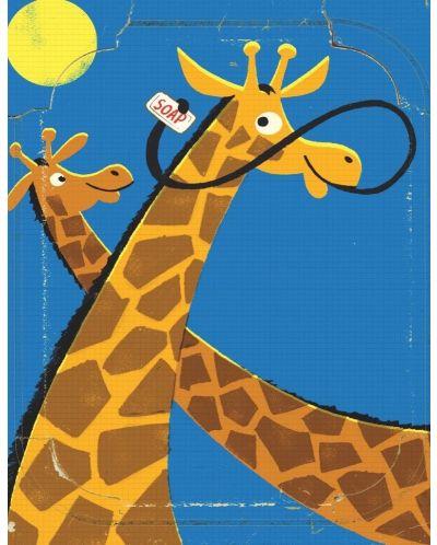 Мини пъзел New York Puzzle от 20 части - Жирафи - 1
