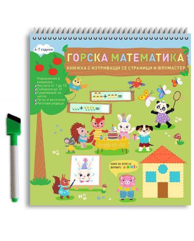 Горска математика (Книжка с изтриващи се страници и флумастер) - 2