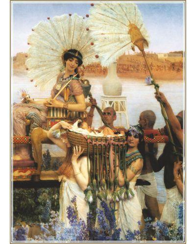 Пъзел Gold Puzzle от 1000 части - Намирането на Мойсей - 1
