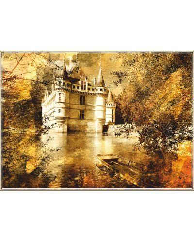 Пъзел Gold Puzzle от 500 части - Замъкът на Азай - 1
