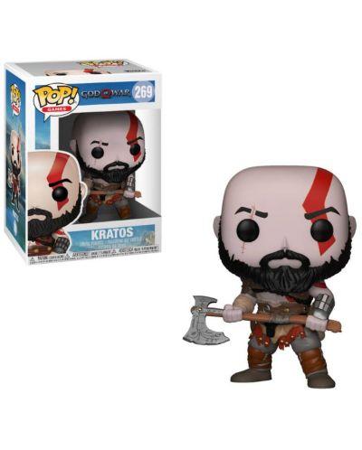 Фигура Funko Pop! Games: God of War - Kratos, #269 - 2