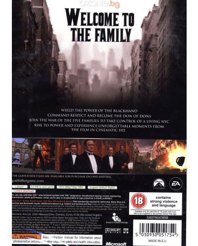 Godfather - The Game (Xbox 360) - 3