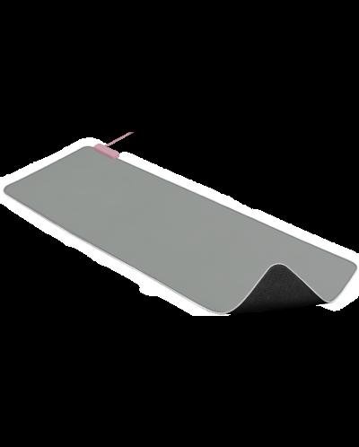 Подложка за мишка Razer Goliathus Extended Chroma - Quartz, сива - 2