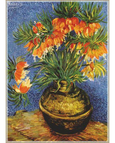 Пъзел Gold Puzzle от 1000 части - Ведрица в медена ваза - 1