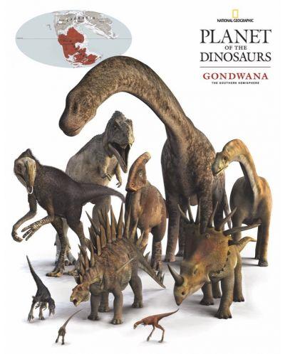 Мини пъзел New York Puzzle от 100 части - Динозаври - 1