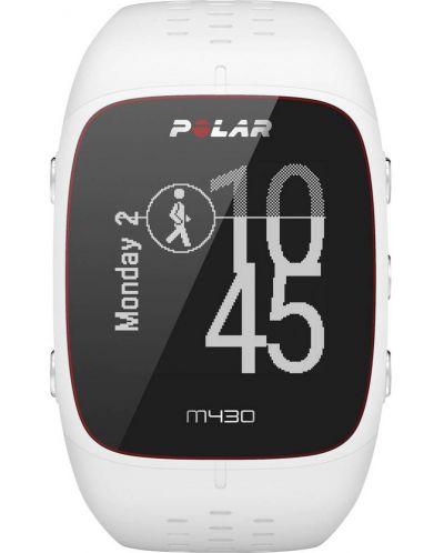 GPS Часовник Polar M430 - бял - 1