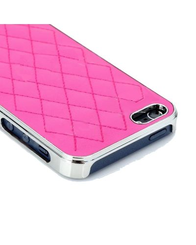 Grid Leather Case за iPhone 5 - 2