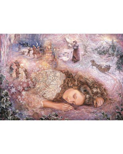 Пъзел Grafika от 1000 части - Зимен сън, Жозефин Уол - 1