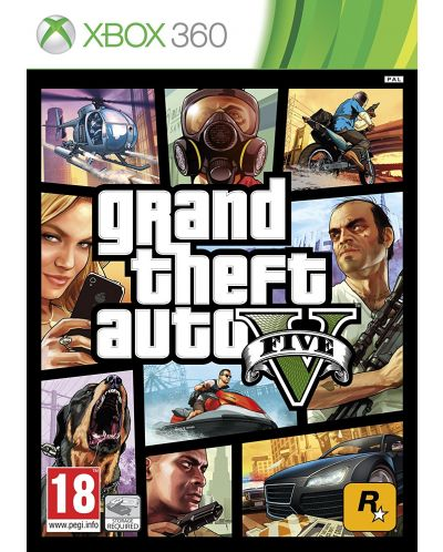 Grand Theft Auto V (Xbox 360) - 1