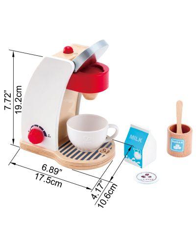 Дървена играчка Hape - Кафе машина - 5