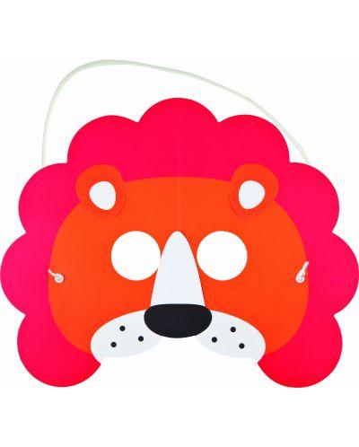 Направи си сам Hape - Картина и маска с лъв - 2