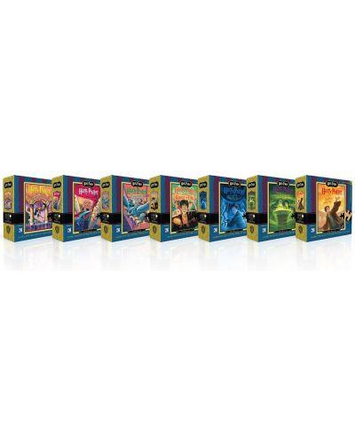 Колекционерски сет мини пъзели New York Puzzle от 100 части - Хари Потър - 2