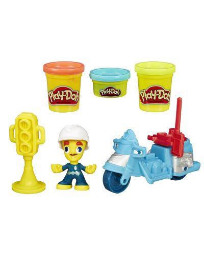 Play Doh Town - Мини превозно средство - 1