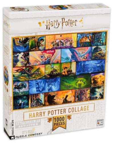 Пъзел New York Puzzle от 1000 части - Хари Потър, колаж - 2