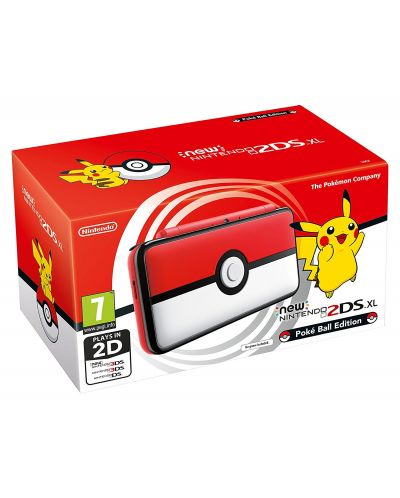 New Nintendo 2DS XL Pokéball Edition - 1