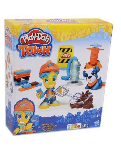 Play Doh Town - Градски фигури с любимец - 1