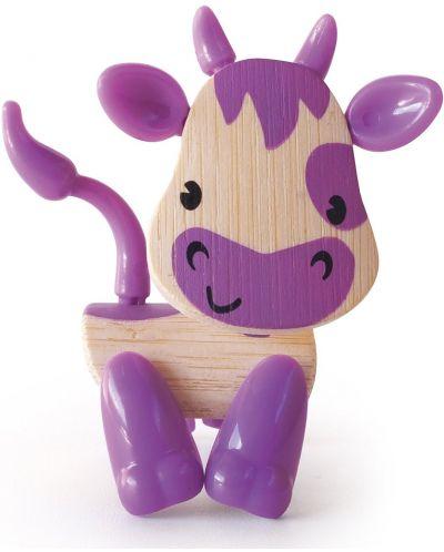 Мини животинка от бамбук – Крава - 1