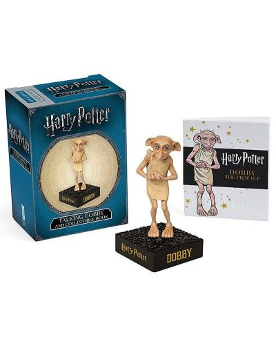Harry Potter Talking Dobby and Collectible Book - 1