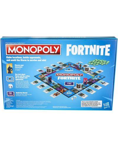 Настолна игра Hasbro Monopoly - Fortnite - 2