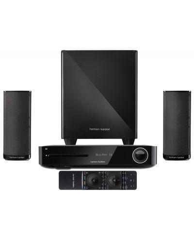Аудио система harman/kardon BDS 380 - 2.1, черна + 3D Blu-ray плейър - 1