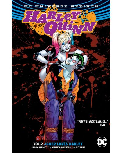Harley Quinn Vol. 2 Joker Loves Harley (Rebirth) - 1