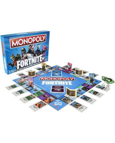 Настолна игра Hasbro Monopoly - Fortnite - 3