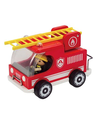 Пожарна кола Hape от дърво - 1
