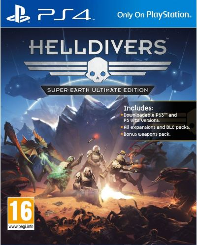 HellDivers Super-Earth Ultimate Edition (PS4) - 1