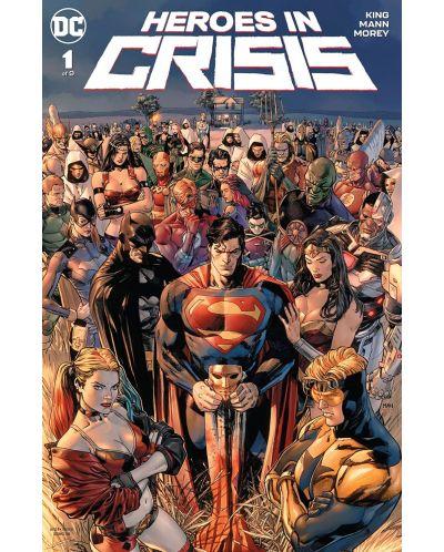 Heroes in Crisis (Hardcover) - 1