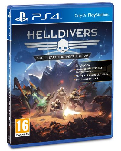 HellDivers Super-Earth Ultimate Edition (PS4) - 5