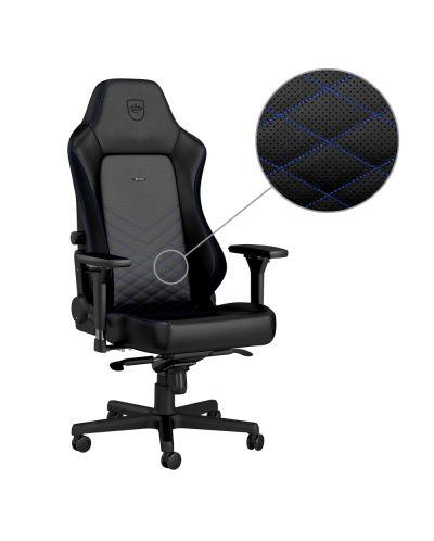 Гейминг стол noblechairs HERO - черен/син - 3
