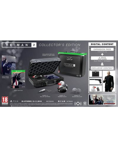 Hitman 2 Collector's Edition (Xbox One) - 5