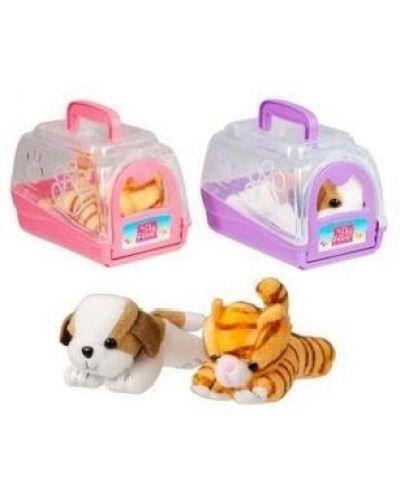Домашен любимец Котенце с кутия за транспортиране - 2