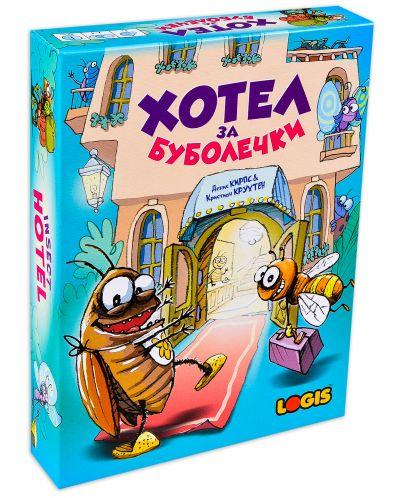 Детска настолна игра Хотел за буболечки - 1