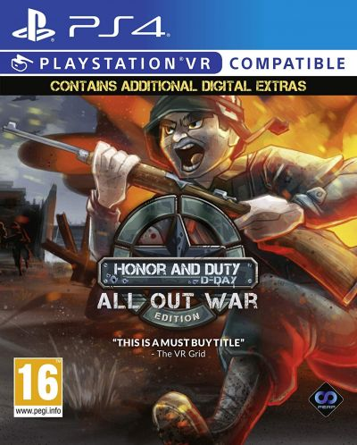 Honor and Duty: D-Day All Out War Edition (PS4 VR) - 1