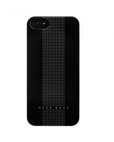 HUGO BOSS Dots Hardcover за iPhone 5 - черен - 1