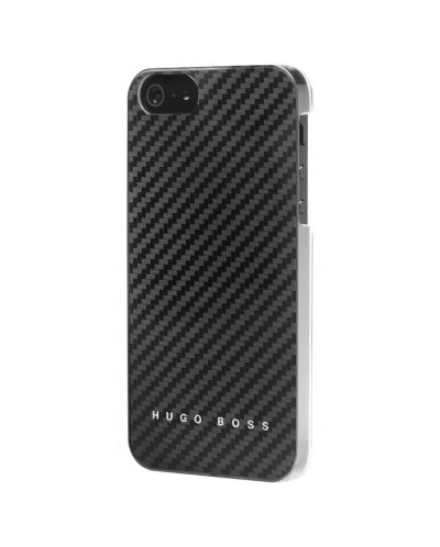 HUGO BOSS Carbon Hardcover за iPhone 5 -  черен - 1