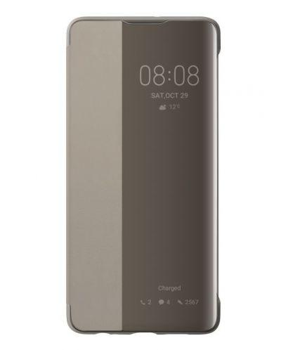 Калъф Huawei Elle P30 - Smart View Flip Cover, khaki - 1