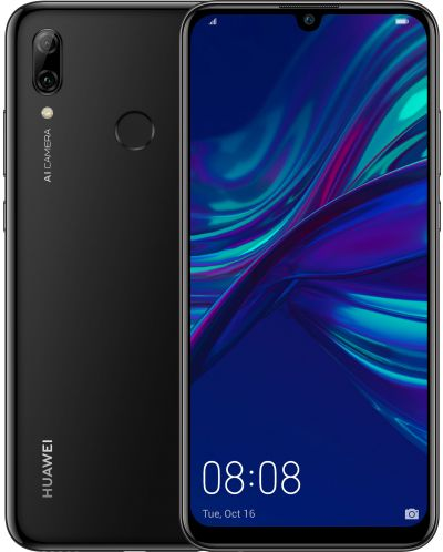"Смартфон Huawei P Smart 2019 - 6.21"", 2340x1080, Dual SIM, Hisilicon Kirin 710 4x2.2 GH, Midnight Black - 1"