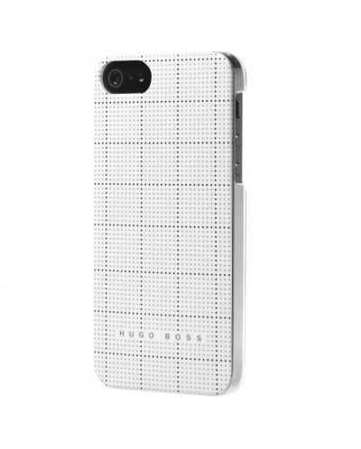 HUGO BOSS Squares Hardcover за iPhone 5 -  бял - 2