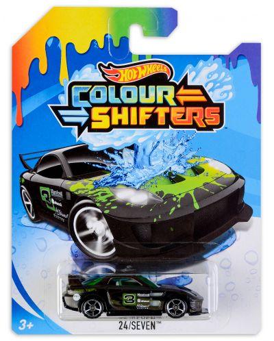 Количка Hot Wheels - 24/Seven, с променящи се цветове - 1